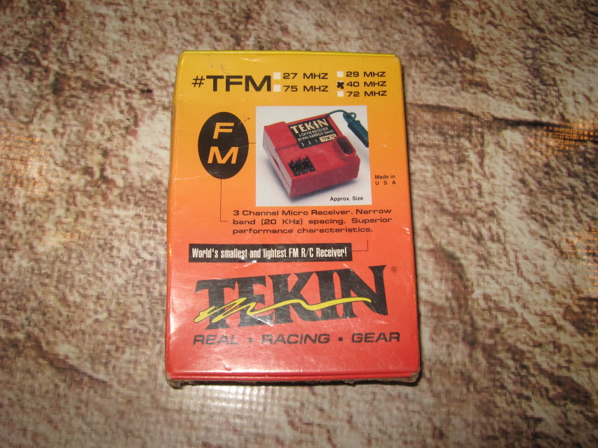 Tekin 3 Channel 40 Mhz Fm Receiver Tfm40
